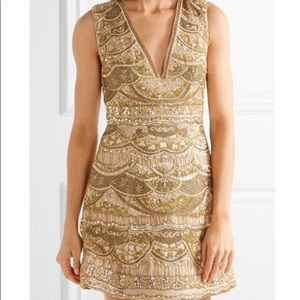 Alice and Olivia Patty embellished dress